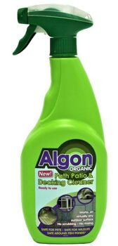 Algon Organic 750ml Path Patio and Decking Cleaner 0120338