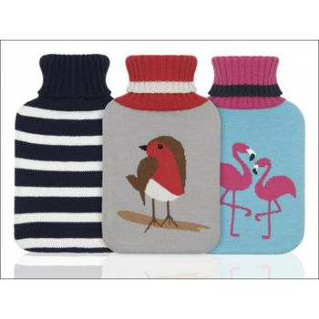 Ladies Hot Water Bottle Knitted Collection 878/818/822  (0180376)