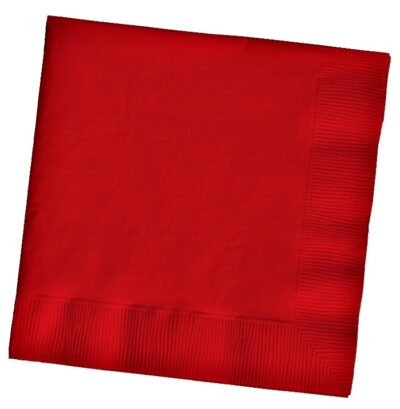 Napkins (pack of 25) - Red  PC591031B