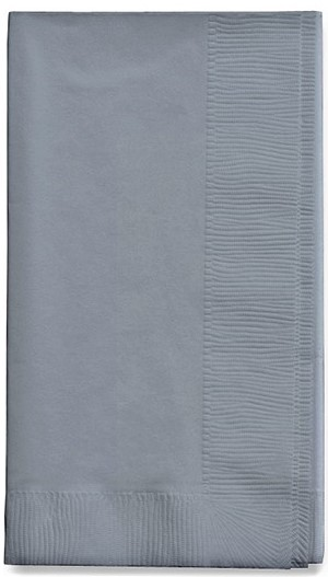 Large Dinner Napkins(pack of 25) - Silver  PC593281B