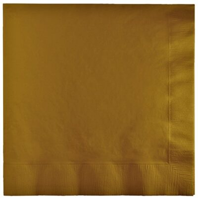 Napkins 3 Ply (pack of 50) - Gold PC583276B