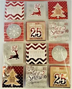 Contemporary Christmas Gift Tags (pack of 24)   THSZ
