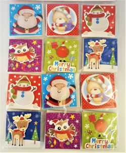 Cute Christmas Gift Tags (pack of 24)    THCE