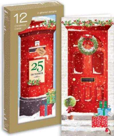 Front Door Christmas Cards - Pack of 12