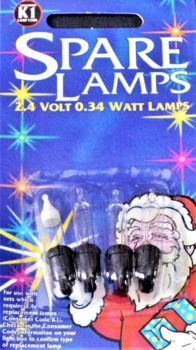 Spare Lamps Clear Replacements Bulbs K1