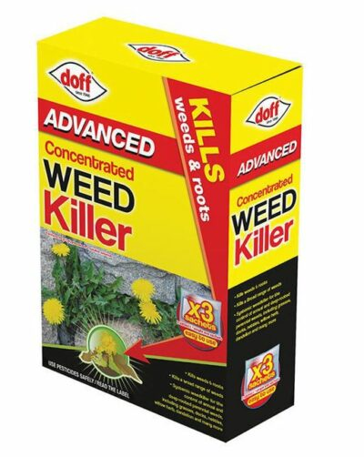Doff Super Advanced Concentrated Weedkiller x3 Sachets 7204-03