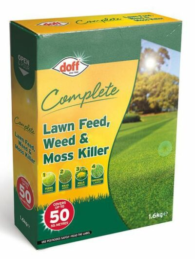 Doff 1.6Kg Complete Lawn Feed Weed and Moss Killer 7220-2