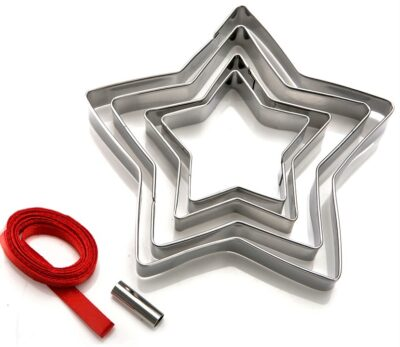 Christmas Tree Decoration Cutters - Star 853029