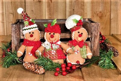 Candy and Ginger Gingerbread Decorations  49254