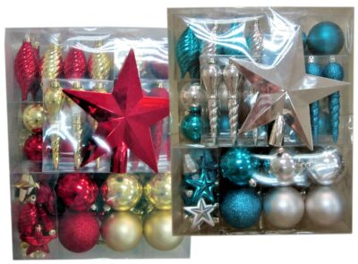 Baubles (pack  of 50) - Red or Teal 265817
