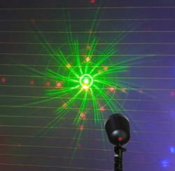 Festive Cosmic Red & Green Laser Projector P015215