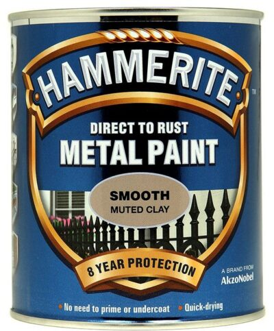 Hammerite 250ml Direct to Rust Metal Paint - Muted Clay 2462003