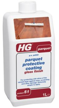 HG Parquet Protective Coating Gloss Finish 1L