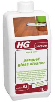 HG Wash and Shine Parquet Gloss Cleaner 1L