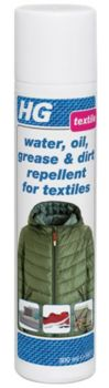 HG Water Oil Grease and Dirt Repellent for Textiles 300ml
