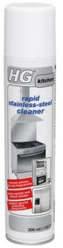 HG Rapid Stainless Steel Cleaner 300ml