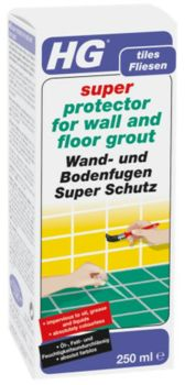 HG Super Protector for Wall and Floor Grout 250ml