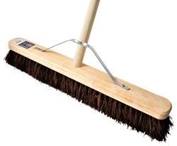 Hillsbrush 600mm Handle and Stay 54in Bassine Broom  VR7FBHS