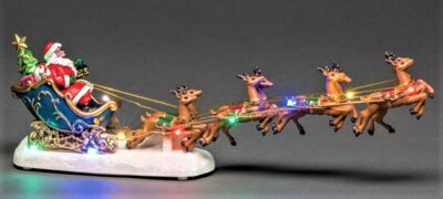 Santa in a Sleigh with Reindeers 4205-000/3612088