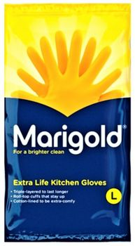 L.R.C Marigold Extra Life Kitchen Gloves - Small  3900041