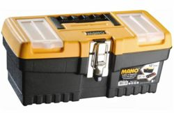 """Mano 33cm(13"""") ToolBox with Latch   MT13 (4070218)"""