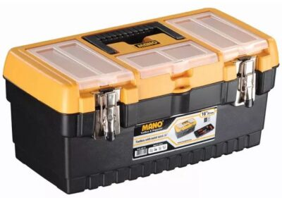"""Mano 41cm(16"""") Toolbox with Latches  MT16 (4070223)"""