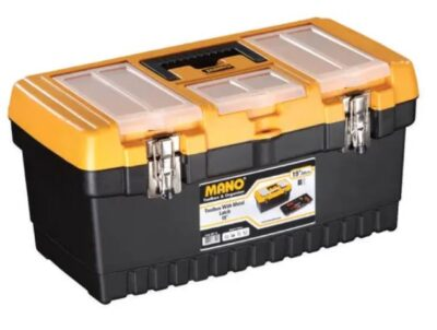 """Mano 48cm(19"""") Toolbox with Metal Latches MT19 (4070239)"""