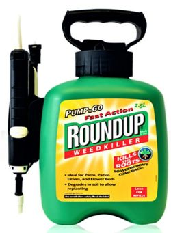 RoundUp 2.5L Pump and Go Weedkiller  4320471