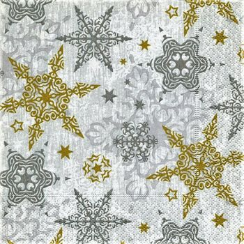 Napkins (pack of 20) - Delicate Stars   PD600317