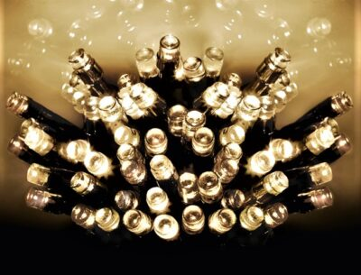 Premier Battery Operated 200 LED Lights - Warm White  LB112384WW