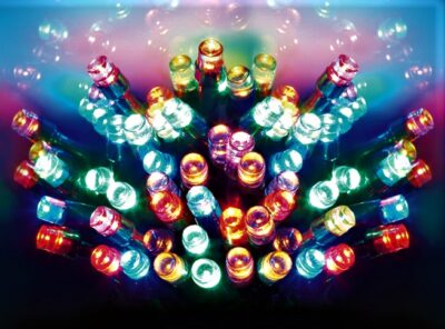 Premier Battery Operated 200 LED Lights - MultiColoured  LB112384M