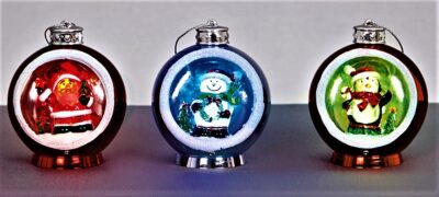 Bauble with Santa