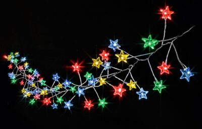 Premier MultiAction MicroBrights 80 LED Lights Star Cluster - Rainbow LB184712M