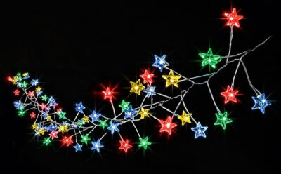 Premier MultiAction MicroBrights 160 LED Lights Star Cluster - Rainbow LB184713M