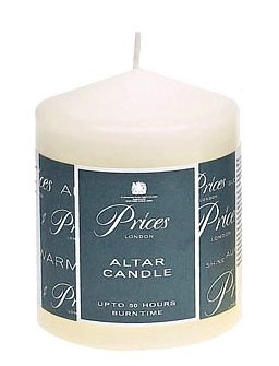 Prices Altar Candle 10x8cm  ARS100616