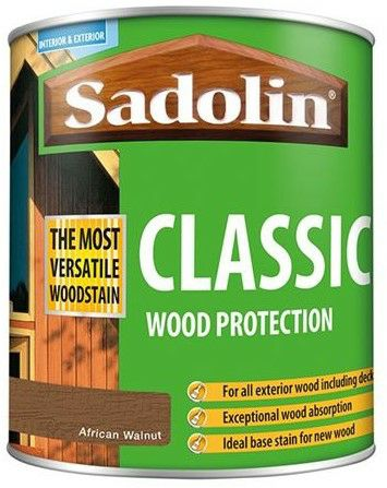 Sadolin 1L Classic Wood Protection - African Walnut 5910030