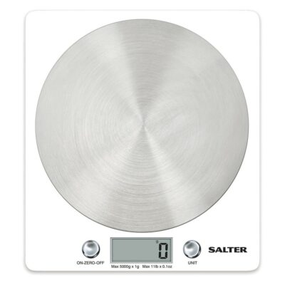 Salter Block Electric Kitchen Scales 1036WHSSDR
