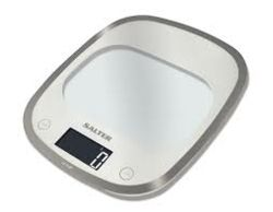 Salter Curve Glass Electronic Scale  1050WHDR