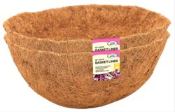 """12"""" x 2 Coco Basket Liners   6050091 (6321503)"""