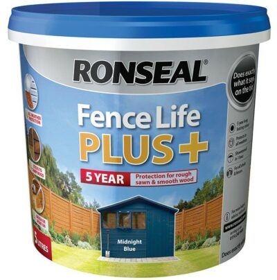 Ronseal 5L Fence Life Plus - Midnight Blue  6881074