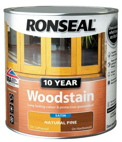 Ronseal 750ml 10 Year Woodstain - Natural Pine 6889985
