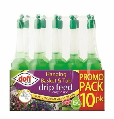 Doff Hanging Basket and Tub Drip Feed - 10 Pack  7226