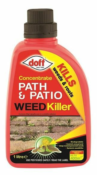 Doff 1 Litre Concentrate Path and Patio Weedkiller 7242