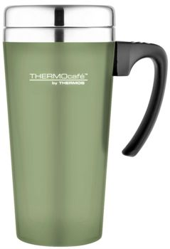 Thermos Thermocafe Soft Touch Moss Travel Mug  170834