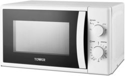 Tower Manual Microwave T24034WHT