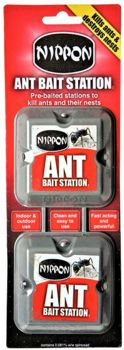 Nippon Ant Bait Station Twin Pack  7741030