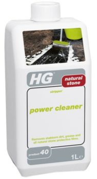 HG Natural Stone Stripper Power Cleaner - Marble 1L
