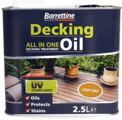 Barrettine 2.5L Decking Treatment - Country Pine DTCP2.5