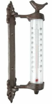 Fallen  Fruits Bird Wall Thermometer BR20/2141082