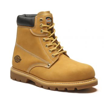 Dickies Cleveland Super Safety Boots Honey UK 11  DICCLEVE11H